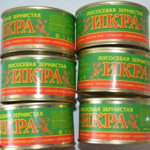 Икра Красная  (Горбуша) 130 гр.