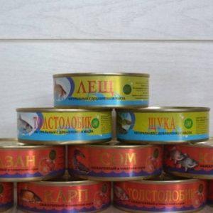 Астраханские консервы