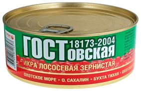 Икра ГОСтовская 360 гр. Жб. Банка