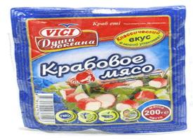Крабовое мясо Vici 200 гр.