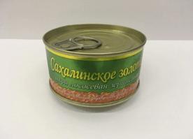 """Икра """"Золото Сахалина"""" 140 гр."""