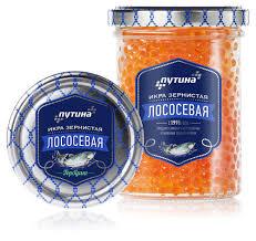 Икра Путина Лососевая зернистая (Горбуша) 440 гр с/б