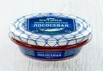 Икра Путина Лососевая зернистая (Горбуша) 60 гр с/б