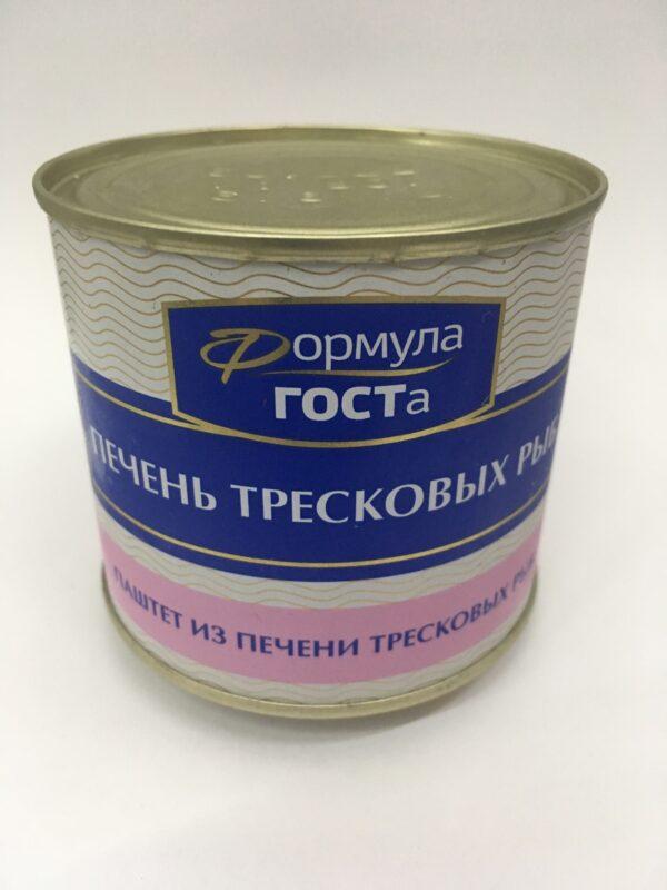 Паштет из Печени тресковых рыб, 220 гр