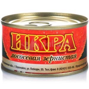 Икра 140 гр, ж/б, РЕНЖИН, Сахалинская область