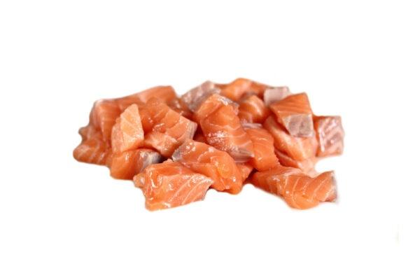 Кусочки семги (мясо)